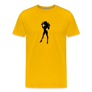 James Bond Girl - Men's Premium T-Shirt