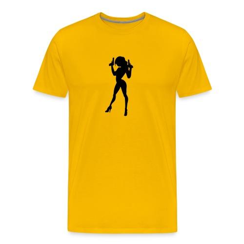 James Bond Girl - Men's Premium T-Shirt