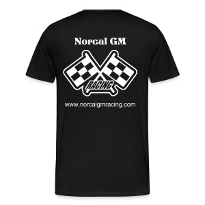 Checkered Flags T-Shirt - Men's Premium T-Shirt