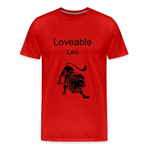 Loveable Leo - Men's Premium T-Shirt
