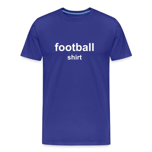 Football Shirt - Men's Premium T-Shirt