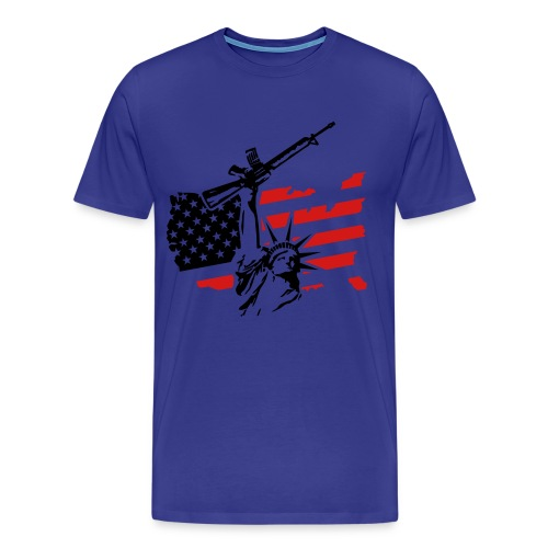 PATRIOTIC SHIRT - Men's Premium T-Shirt