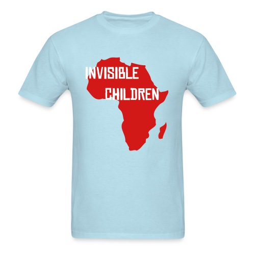 invisible children - Men's T-Shirt