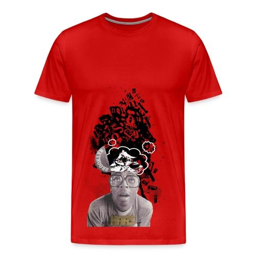 Mars Blackmon Sneakerhead Tee [Multicolor] - Men's Premium T-Shirt