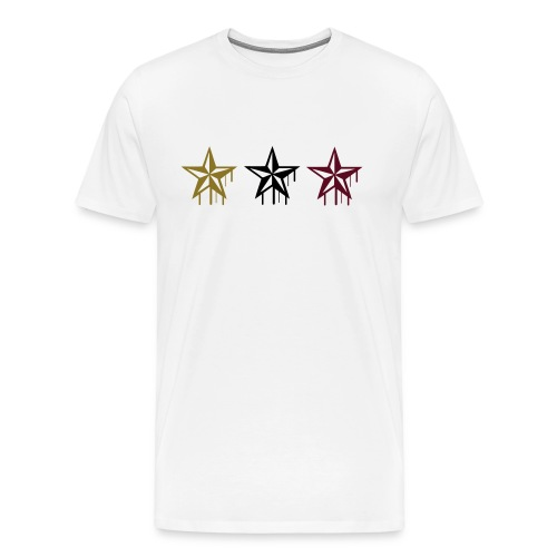 Melted Stars Tee - Men's Premium T-Shirt