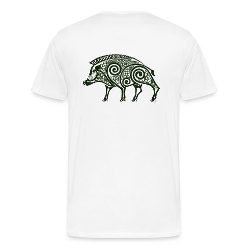 celtic boar - Men's Premium T-Shirt