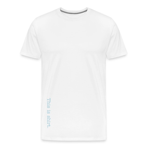 SHIRT!Classic (White) - Men's Premium T-Shirt