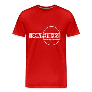 iBOWLSTRIKES! Red T - Men's Premium T-Shirt