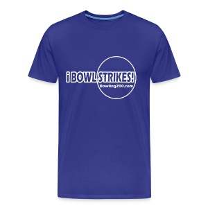 iBOWLSTRIKES! Royal T  - Men's Premium T-Shirt
