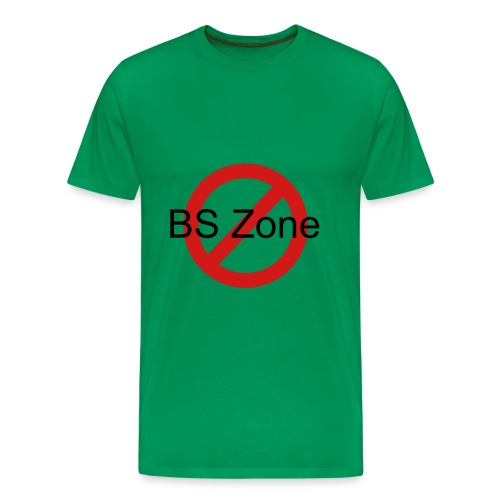 No BS Zone - Men's Premium T-Shirt