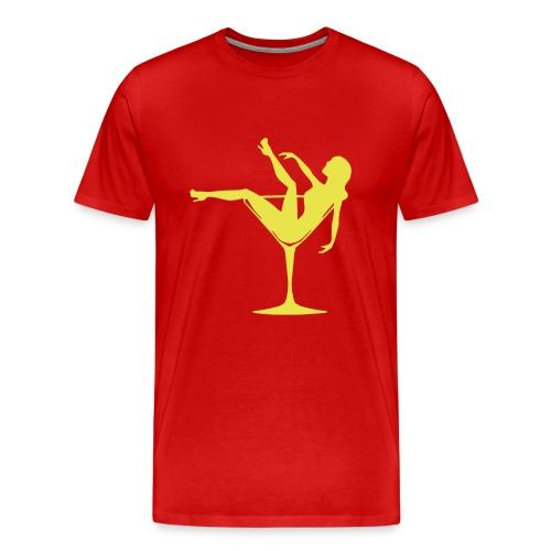 yellow sweater - Men's Premium T-Shirt