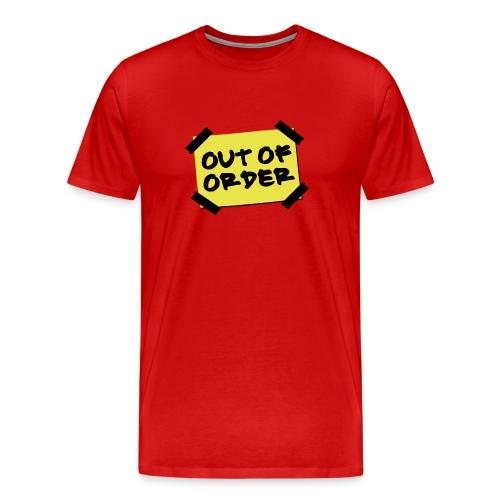 Out of Order T-Shirt - Men's Premium T-Shirt