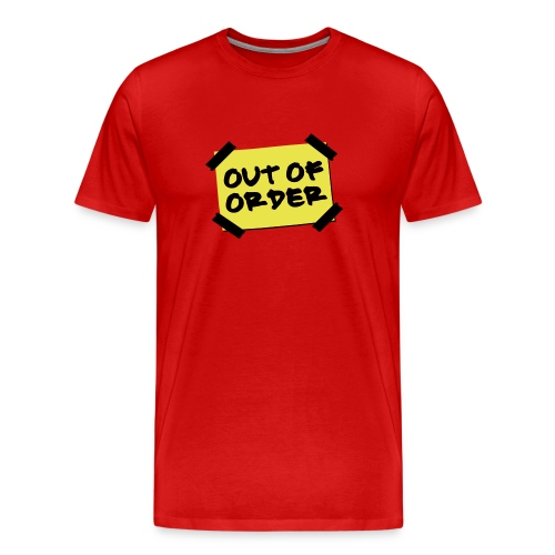 Out of Order T-Shirt - Men's Premium T-Shirt