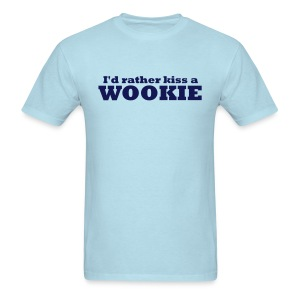 Kiss a Wookie - MHW - Men's T-Shirt