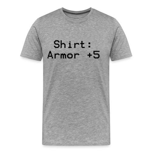 Shirt Armor +5 - Men's Premium T-Shirt