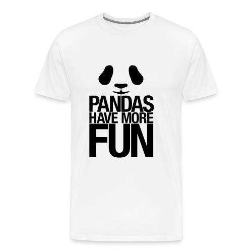 The Panda shirt - Men's Premium T-Shirt