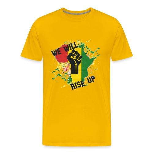 Africa We Will Rise - Men's Premium T-Shirt