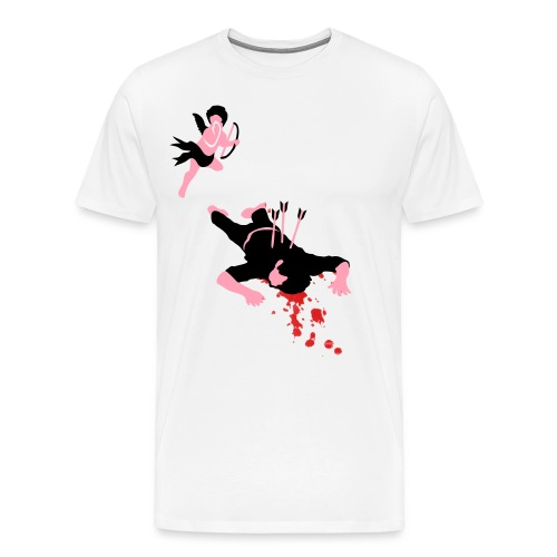 love herts t shirt - Men's Premium T-Shirt