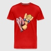 Red American Pinup T-Shirts (Short sleeve) - Men's Premium T-Shirt