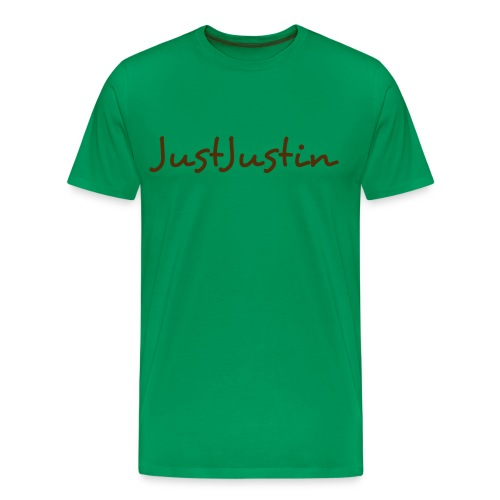 JustJustin Tee - Men's Premium T-Shirt