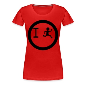 I Run Circles Womens Plus Size 2X & 3X T Shirt - Women's Premium T-Shirt