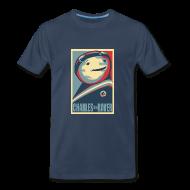 T-Shirts ~ Men's Premium T-Shirt ~ Charles Obama Men's Heavyweight