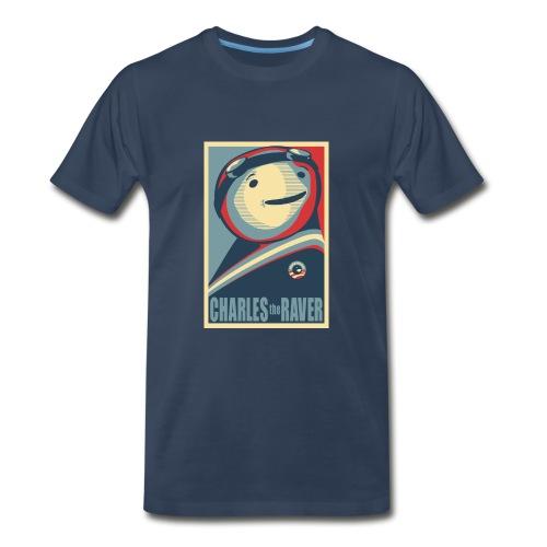 Charles Obama Men's Heavyweight - Men's Premium T-Shirt