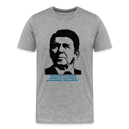 Reagan Quote - Men's Premium T-Shirt