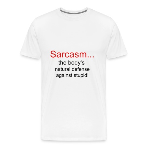 sarcasm - Men's Premium T-Shirt