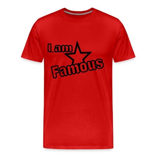 iam famous - Men's Premium T-Shirt