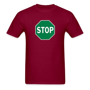 Stop-and-Go - Men's T-Shirt