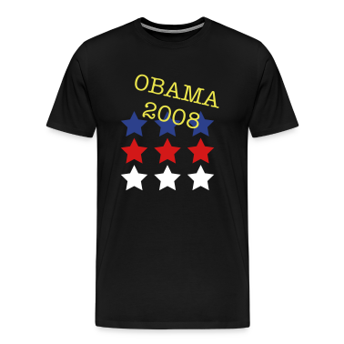 Black USA stars T-Shirts (Short sleeve)