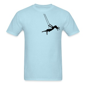 Swinging Girl - Men's T-Shirt