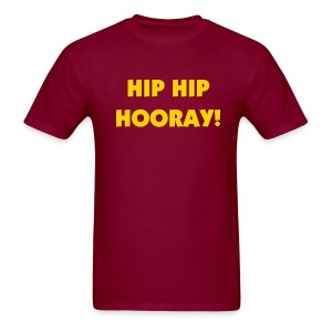Hip Hip Hooray! - Men's T-Shirt