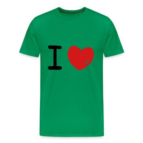 green garments - Men's Premium T-Shirt