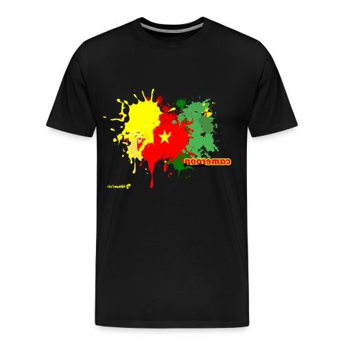 Flag spray - Men's Premium T-Shirt