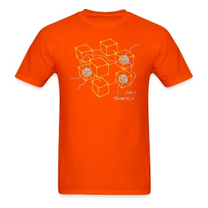 CM-1 men's orange gold/blue - Men's T-Shirt
