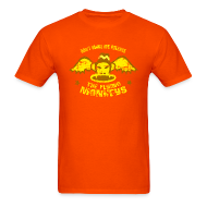 T-Shirts ~ Men's T-Shirt ~ DON'T MAKE ME RELEASE THE FLYING MONKEYS - Vintage