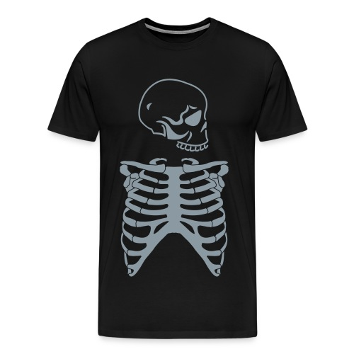 Skeletal Fire - Men's Premium T-Shirt