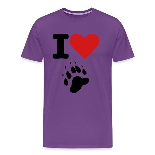 Do you love animals? - Men's Premium T-Shirt