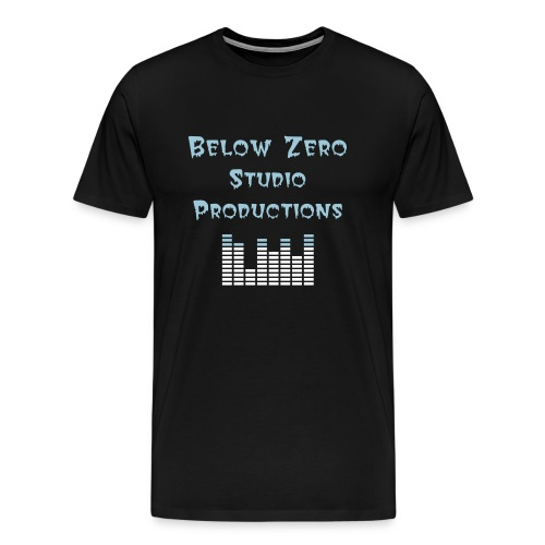Below Zero T-Shirt - Men's Premium T-Shirt
