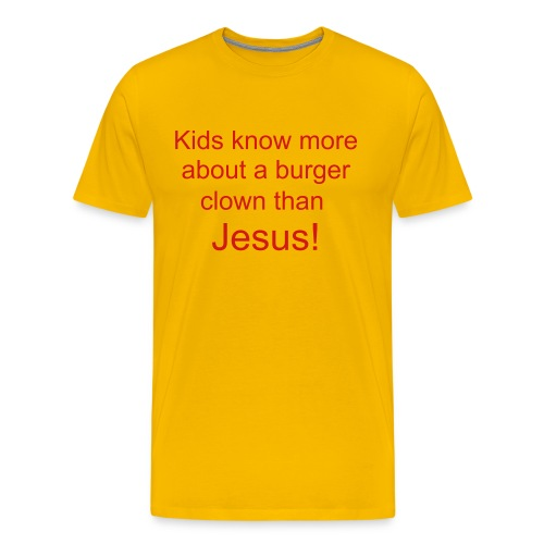Clown or Jesus - Men's Premium T-Shirt