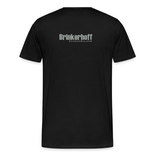 Tribal Brink - Black - Men's Premium T-Shirt