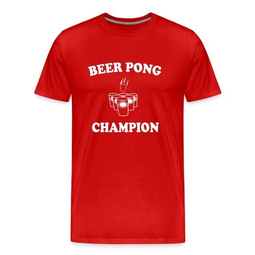 Beer Pong Tee - Men's Premium T-Shirt