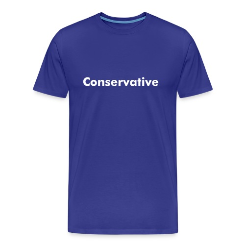 Conservative and Proud - T - Men's Premium T-Shirt