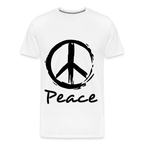 Painted Peace Tee - Men's Premium T-Shirt