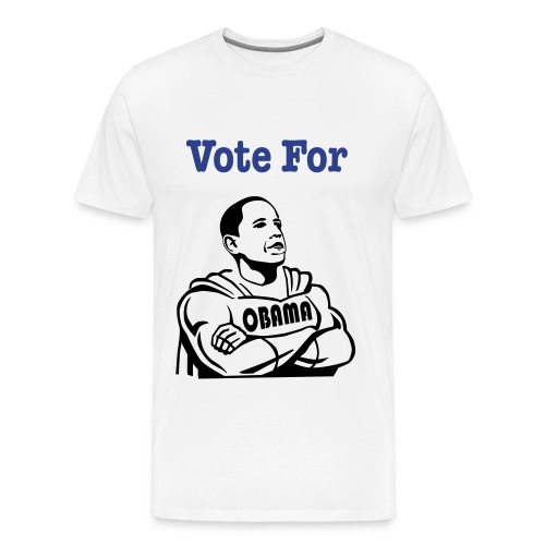 Vote for Obama Male Tee - Men's Premium T-Shirt