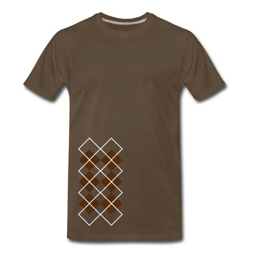 Argyle Tee - Men's Premium T-Shirt