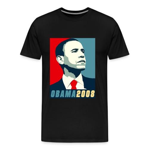 obama 08 - Men's Premium T-Shirt
