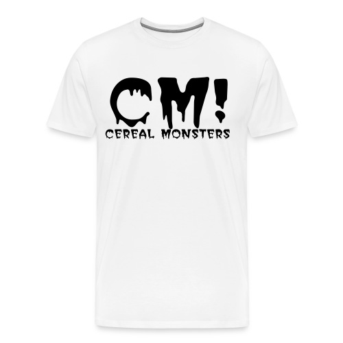 Cereal Monsters (CM/full txt) - Men's Premium T-Shirt